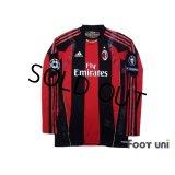 AC Milan 2010-2011 Home Match Issue Long Sleeve Shirt #70 Robinho