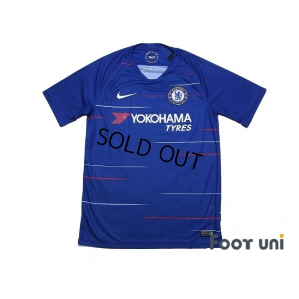 Photo1: Chelsea 2018-2019 Home Shirt w/tags