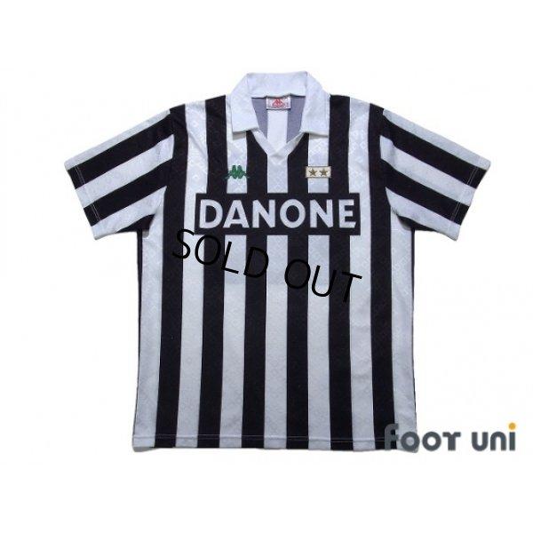 Photo1: Juventus 1992-1994 Home Shirt #10
