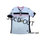 Palermo 2013-2014 Away Shirt #20 Vazquez Serie A Tim Patch/Badge w/tags