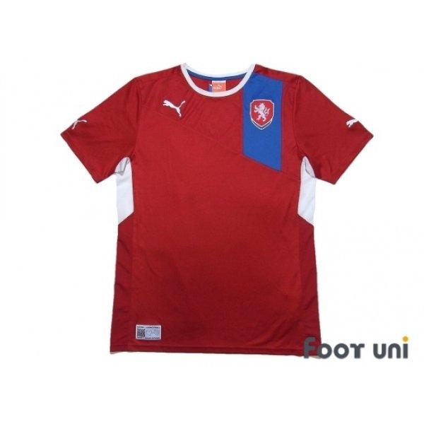 Photo1: Czech Republic Euro 2012 Home Shirt