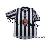 Newcastle 1997-1999 Home Shirt #9 Shearer The F.A. Premier League Patch/Badge
