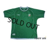Ireland 2002 Home Shirt