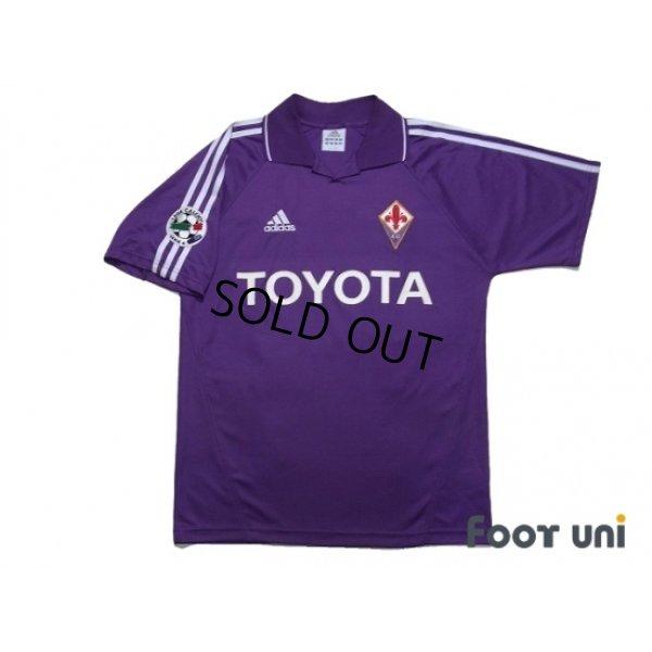 Photo1: Fiorentina 2004-2005 Home Shirt #14 Maresca Lega Calcio Serie A Patch/Badge