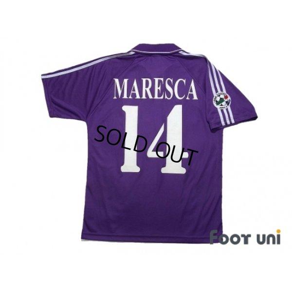 Photo2: Fiorentina 2004-2005 Home Shirt #14 Maresca Lega Calcio Serie A Patch/Badge