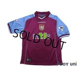 Aston Villa 2000-2001 Home Shirt #14 Ginola