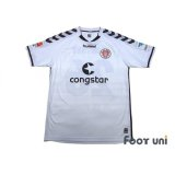 FC St. Pauli 2014-2015 Away Shirt #26 Gonther Bundesliga Patch/Badge Hermes Patch/Badge