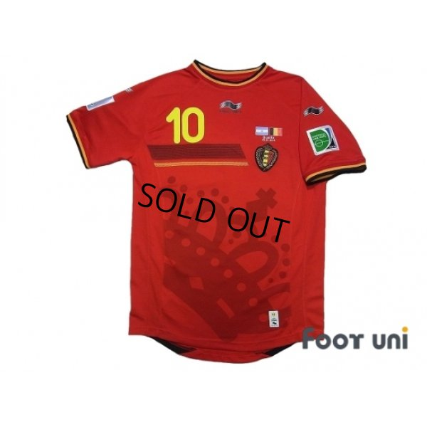 Photo1: Belgium 2014 Home #15 E.Hazard FIFA World Cup 2014 Brazil Patch/Badge w/tags