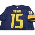 Photo4: Hellas Verona FC 2013-2014 Home Shirt #15 Iturbe Serie A Tim Patch/Badge w/tags (4)