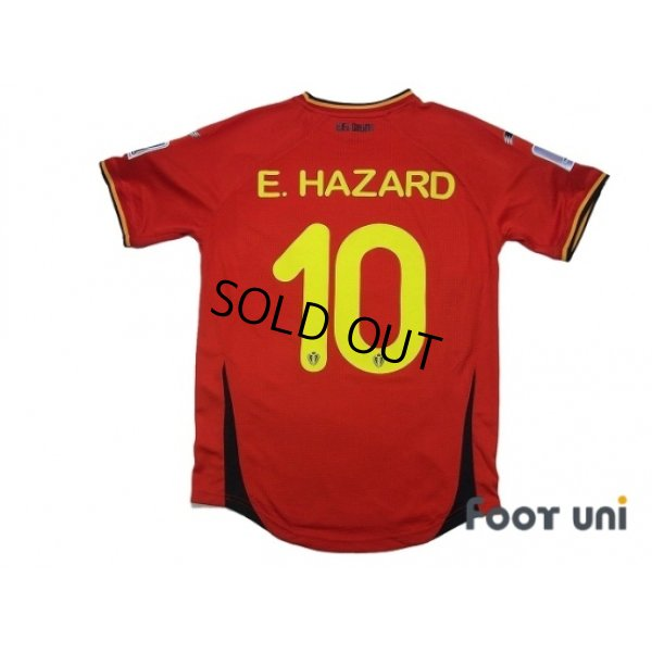 Photo2: Belgium 2014 Home #15 E.Hazard FIFA World Cup 2014 Brazil Patch/Badge w/tags