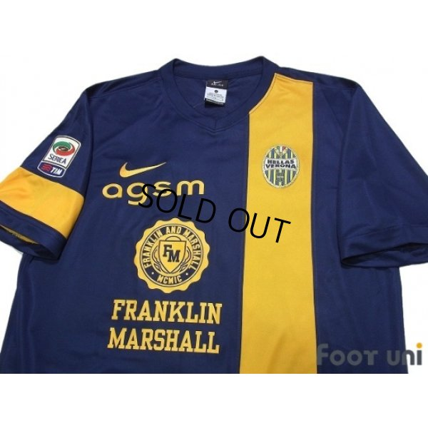 Photo3: Hellas Verona FC 2013-2014 Home Shirt #15 Iturbe Serie A Tim Patch/Badge w/tags