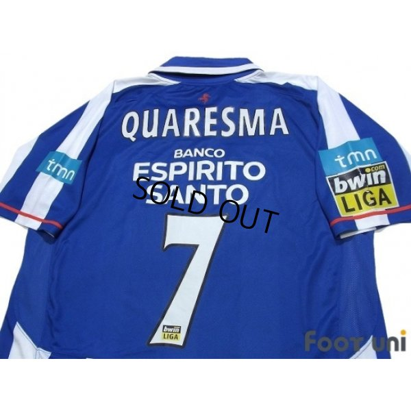 Photo4: FC Porto 2007-2008 Home Shirt #9 Quaresma