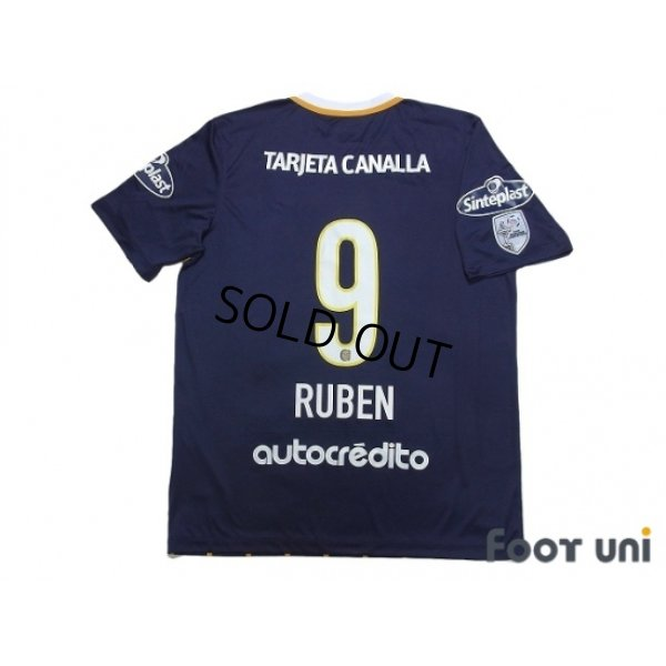 Photo2: Rosario Central 2016 Home Shirt #9 Ruben w/tags