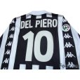 Photo4: Juventus 1999-2000 Home Long Sleeve Shirt #10 Del Piero Lega Calcio Patch/Badge (4)