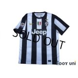 Juventus 2012-2013 Home Shirt #10 Del Piero Serie A Tim Patch/Badge