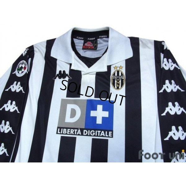 Photo3: Juventus 1999-2000 Home Long Sleeve Shirt #10 Del Piero Lega Calcio Patch/Badge