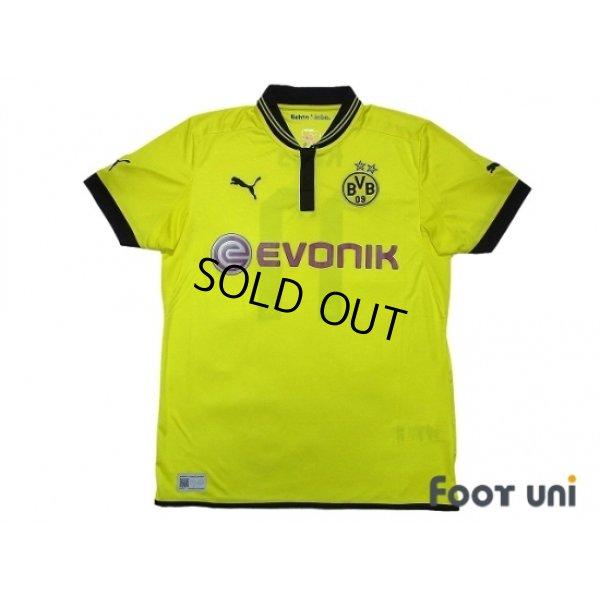 Photo1: Borussia Dortmund 2012-2013 Home Shirt #11 Reus