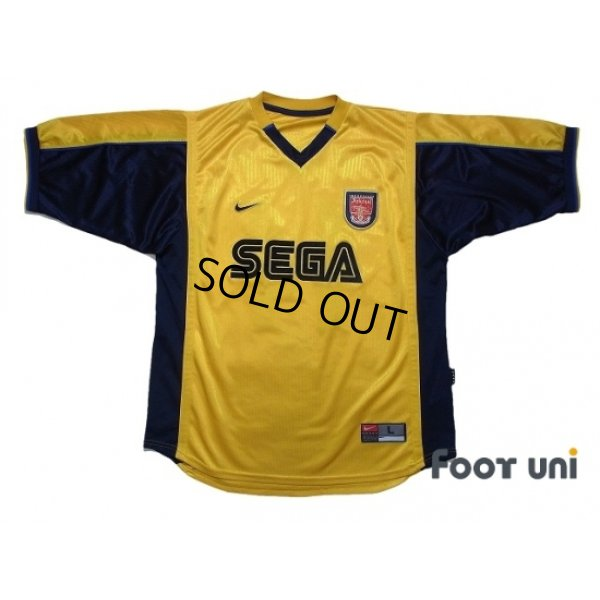 Photo1: Arsenal 1999-2001 Away Shirt #14 Henry