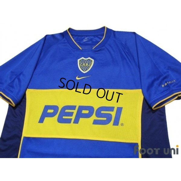 Photo3: Boca Juniors 2001-2002 Home Shirt