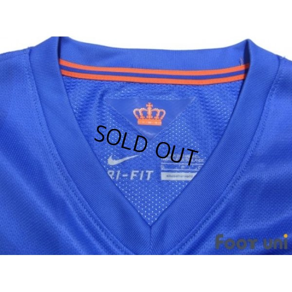 Photo4: Netherlands 2014 Away Authentic Shirt