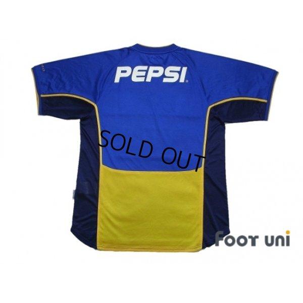 Photo2: Boca Juniors 2001-2002 Home Shirt