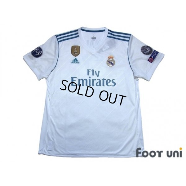 brand new 5c100 1f468 Real Madrid 2017-2018 Home Shirt #7 Ronaldo - Online Store ...