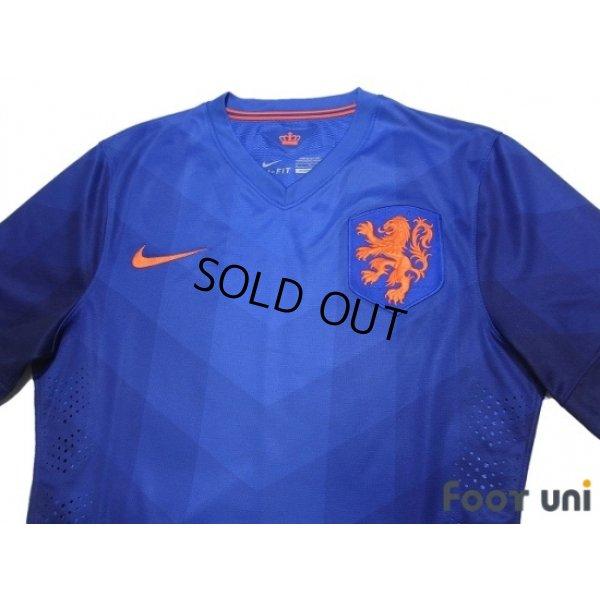Photo3: Netherlands 2014 Away Authentic Shirt