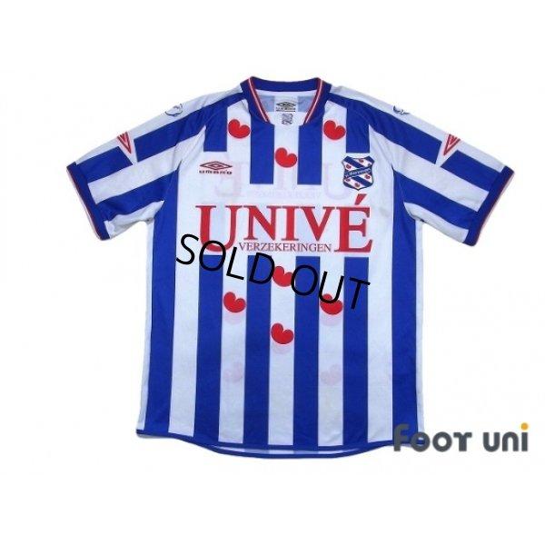 Photo1: SC Heerenveen 2003-2005 Home Shirt