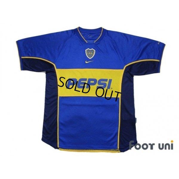 Photo1: Boca Juniors 2001-2002 Home Shirt
