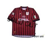 AC Milan Centenario Shirt #10 Boban Scudetto Patch/Badge w/tags
