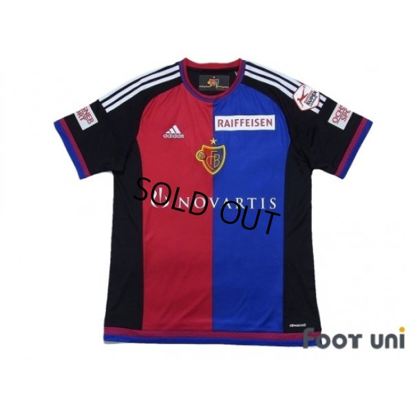 Photo1: Basel 2015-2016 Home Shirt #14 Kakitani RAIFFEISEN SUPER League Patch/Badge w/tags