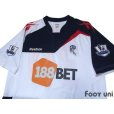 Photo3: Bolton Wanderers 2011-2012 Home Autographed Shirt #30 Ryo Miyaichi BARCLAYS PREMIER LEAGUE Patch/Badge (3)