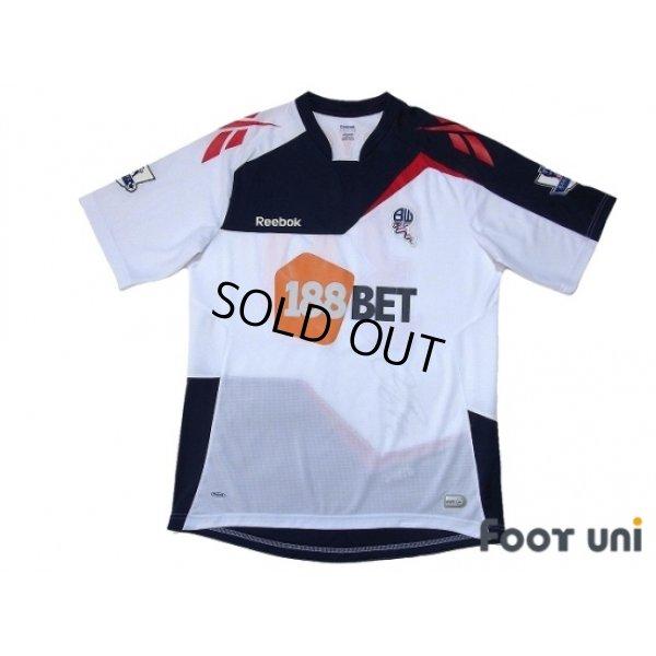 Photo1: Bolton Wanderers 2011-2012 Home Autographed Shirt #30 Ryo Miyaichi BARCLAYS PREMIER LEAGUE Patch/Badge