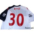 Photo4: Bolton Wanderers 2011-2012 Home Autographed Shirt #30 Ryo Miyaichi BARCLAYS PREMIER LEAGUE Patch/Badge (4)
