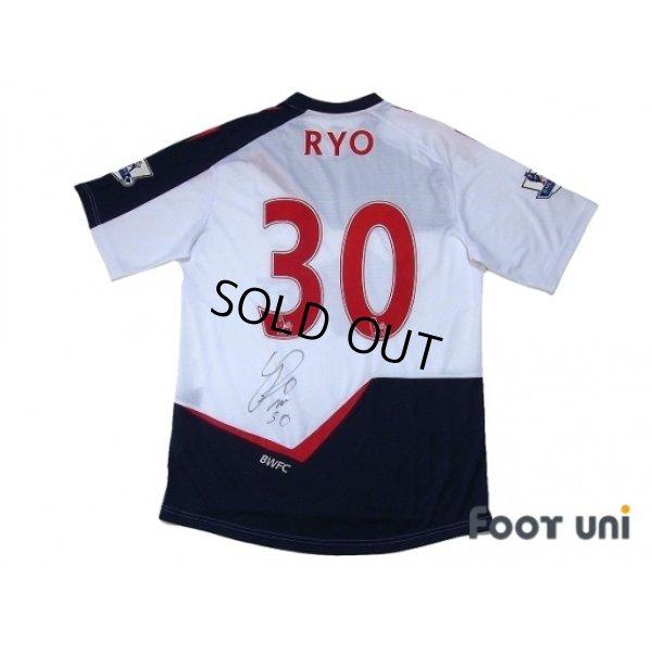 Photo2: Bolton Wanderers 2011-2012 Home Autographed Shirt #30 Ryo Miyaichi BARCLAYS PREMIER LEAGUE Patch/Badge