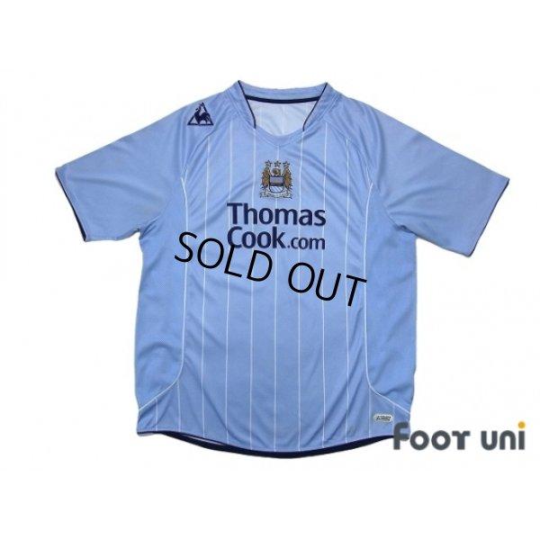 Photo1: Manchester City 2007-2008 Home Shirt