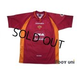AS Roma 1997-1998 Home Shirt #10 Totti