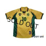 Cameroon 1998 Away Shirt #10 Mboma
