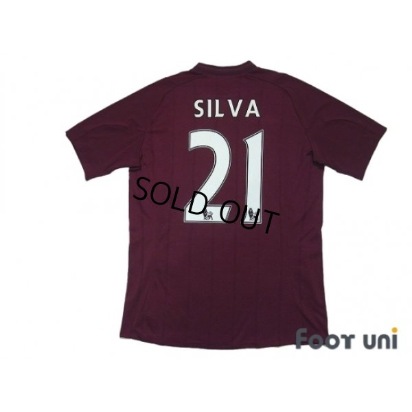 Photo2: Manchester City 2012-2013 Away Shirt #21 Silva w/tags