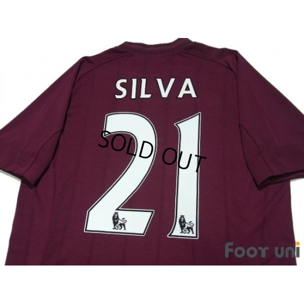 Photo4: Manchester City 2012-2013 Away Shirt #21 Silva w/tags