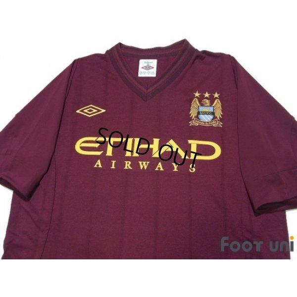 Photo3: Manchester City 2012-2013 Away Shirt #21 Silva w/tags