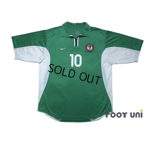 Photo1: Nigeria 2000 Home Shirt #10 Okocha