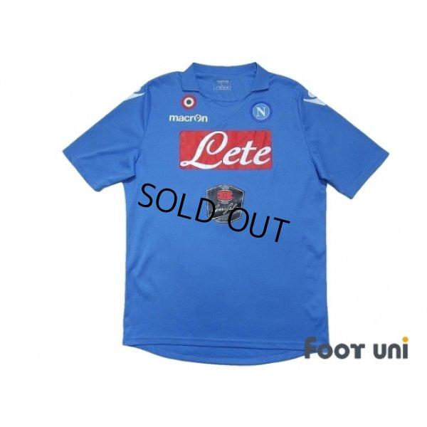 Photo1: Napoli 2014-2015 Home Shirt