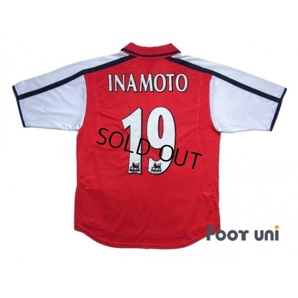 Photo2: Arsenal 2000-2002 Home Shirt #19 Inamoto