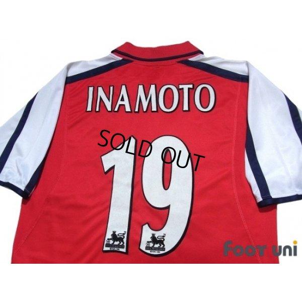 Photo4: Arsenal 2000-2002 Home Shirt #19 Inamoto