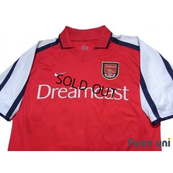 Photo3: Arsenal 2000-2002 Home Shirt #19 Inamoto