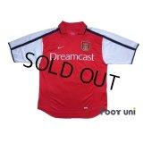 Arsenal 2000-2002 Home Shirt #19 Inamoto