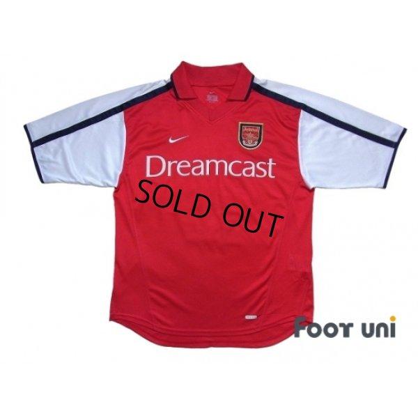 Photo1: Arsenal 2000-2002 Home Shirt #19 Inamoto