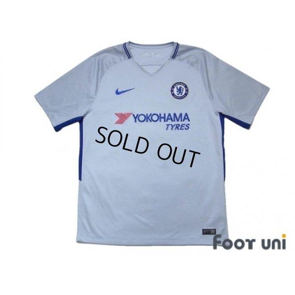 Photo1: Chelsea 2017-2018 Away Shirt #9 Morata