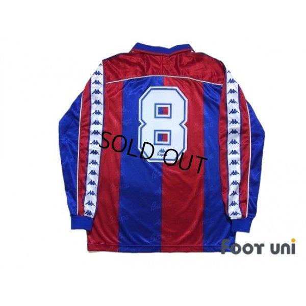 Photo2: FC Barcelona 1993-1995 Home Long Sleeve Shirt #8